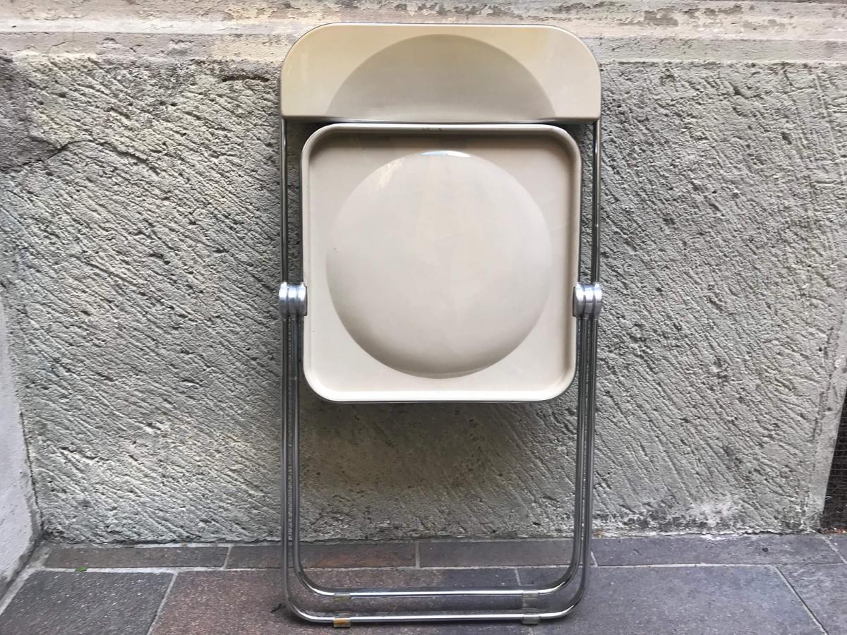 SEDIA PLIA DI G.PIRETTI PER ANONIMA CASTELLI GREIGE - S ...